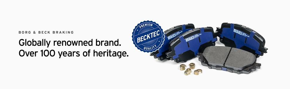 Brake Pads Set BBP1703 Borg /& Beck 1610489680 1611293980 425259 425276 425218