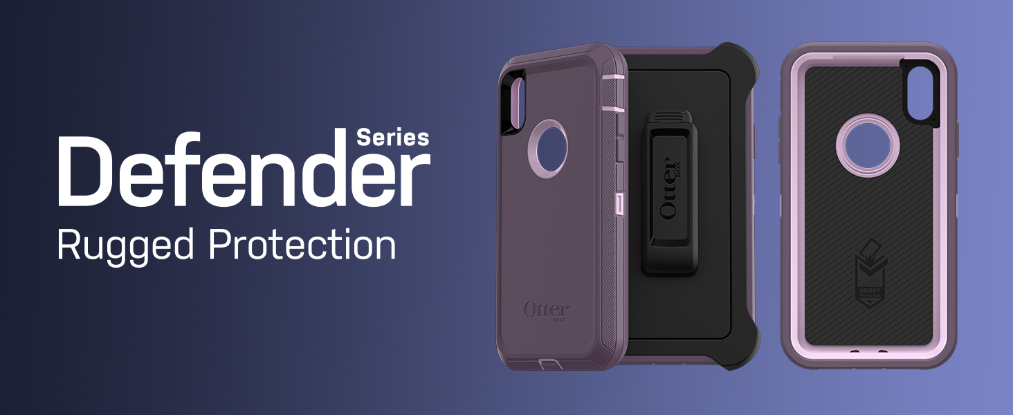 purchase cheap 6c3d4 d7fe4 OtterBox Defender Series Screenless Edition Case for iPhone Xr - Retail  Packaging - Black