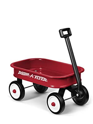 f35f5483b6b Amazon.com: Radio Flyer Little Red Toy Wagon: Toys & Games