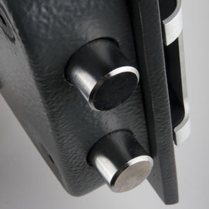 Bulones motorizados Caja fuerte certificada
