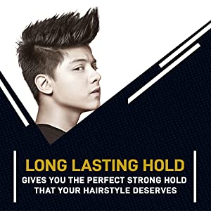 Long lasting hold hair wax