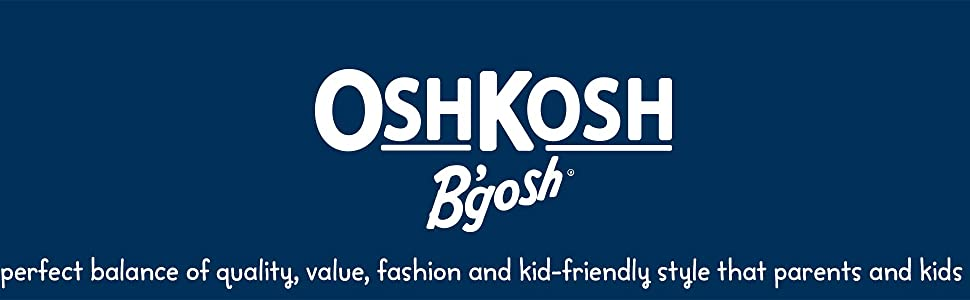 Osh Kosh branding banner
