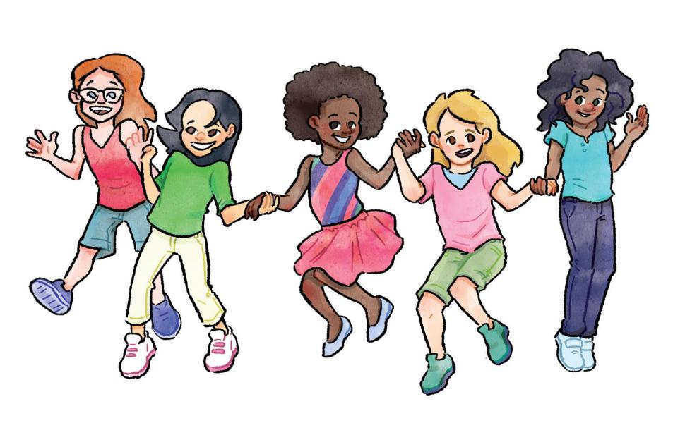 celebrating diversity girl power community building self-esteem  innovative