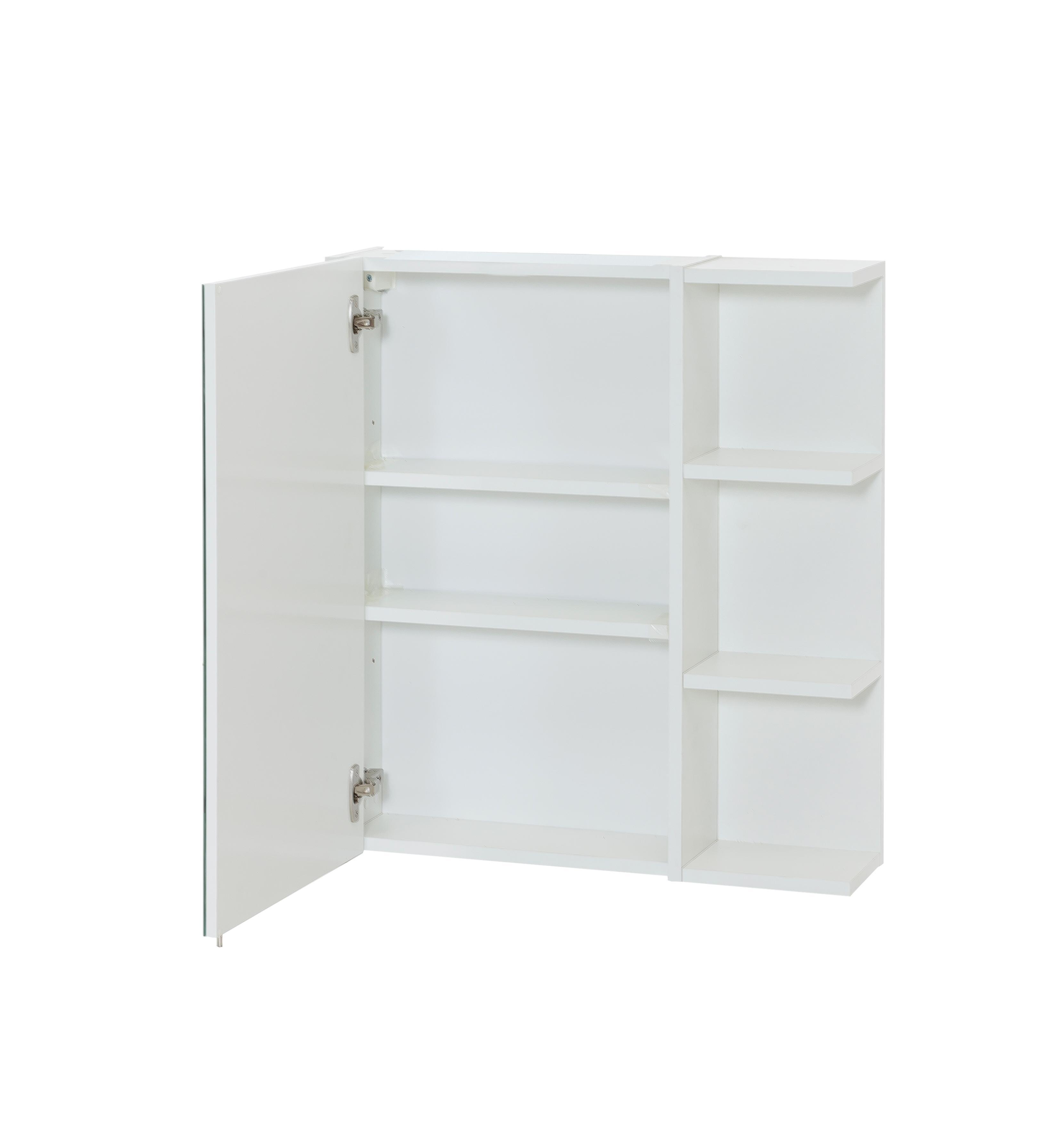 Schildmeyer Laif Spiegelschrank, Holz, Weiß, 15.95 x 63.1 x 70.4 cm ...