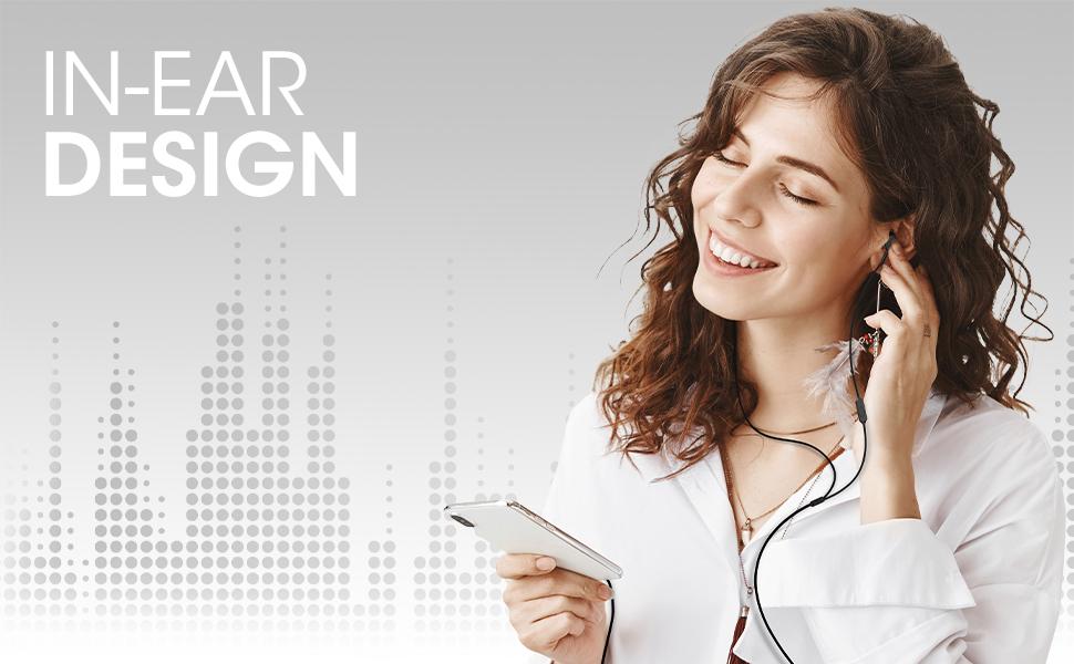 wired earphones, in ear wired earphones, wired earphones with mic, wired earphones under 500