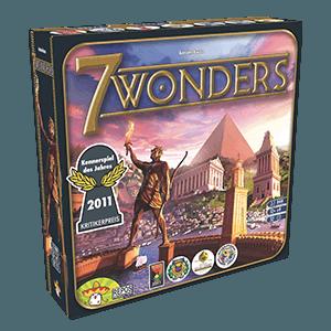 Asmodee - 7 Wonders, juego de mesa (Repos SEV01ML): Amazon.es ...