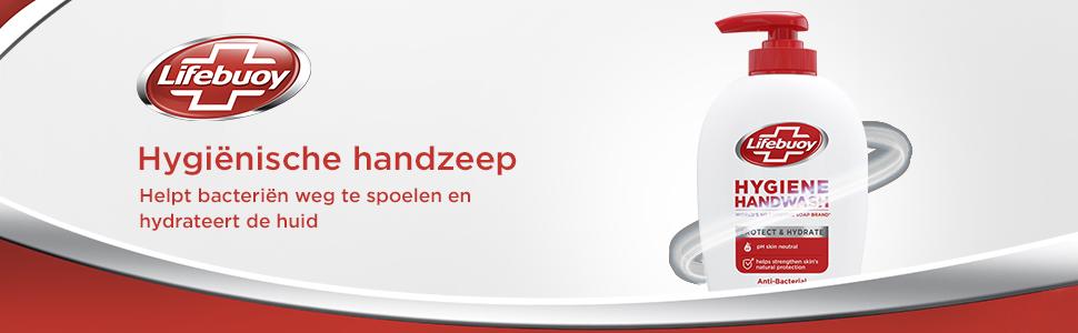 Lifebuoy Hygiene Handwash =  een hygiënische handzeep die helpt de huid te beschermen