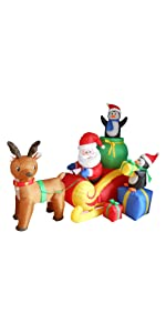 ... bzb goods christmas inflatables inflatable airblown decor sunstar outdoor decoration gemmy blowup ...
