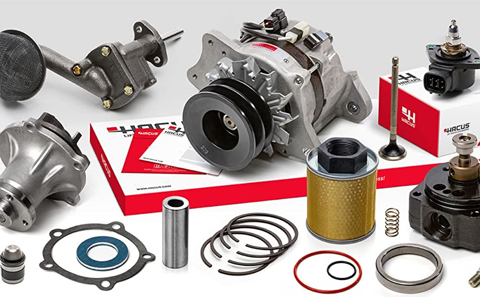 HACUS delivers high quality performance through aftermarket parts.