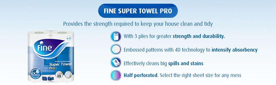 Fine - Paper towel