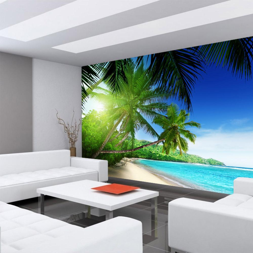 vlies fototapete 400x280 cm premium plus wand foto tapete wand bild vliestapete paradise beach. Black Bedroom Furniture Sets. Home Design Ideas