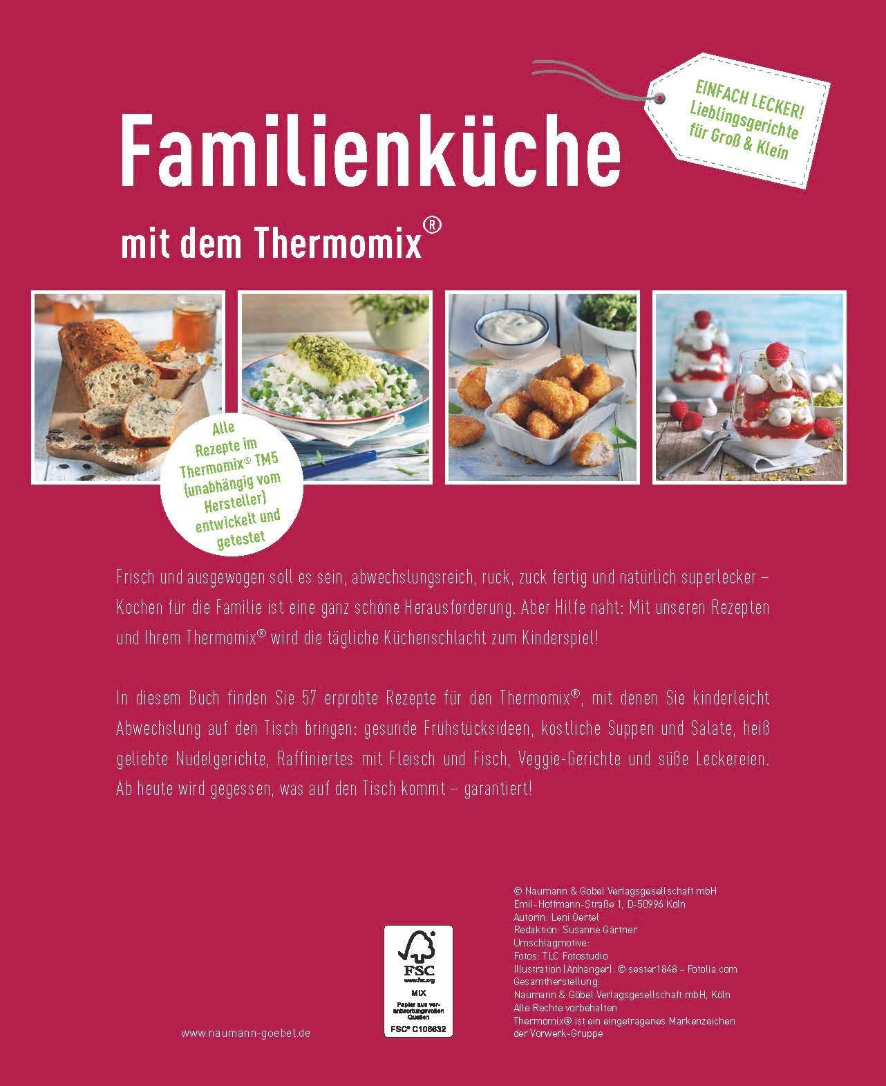 Familienküche mit dem Thermomix: Amazon.de: Leni Oertel: Bücher