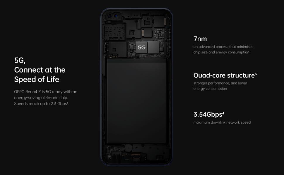 Reno4 Z, OPPO, Mobile Phone, Smartphone