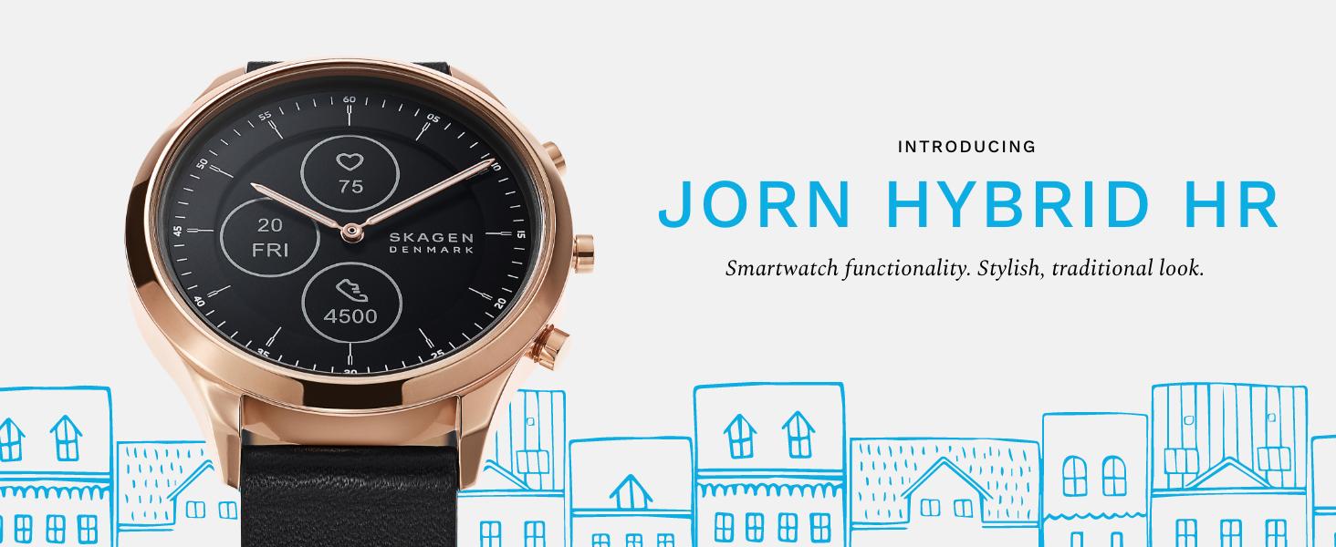 Skagen Hybrid HR Smartwatch Black JORN