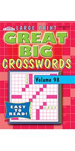 Great Big Crosswords Puzzle Book