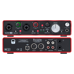 Our Most Versatile USB-Powered Audio Interface