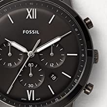 Fossil watch, watch, dress watch, leather watch, fashion watch, men watch