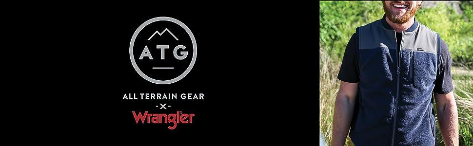 ATG x Wrangler Fleece Bomber Vest