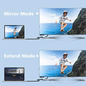 Mirror or Extend your Desktop