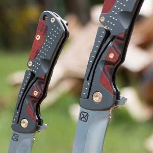 Klecker - Klecker Cordovan Lock-Back Knife - Featured eye-catching details