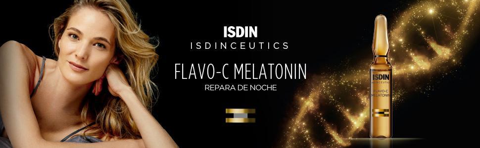 isdinceutics, melatonin, serum, antiaging, envejecimiento, piel