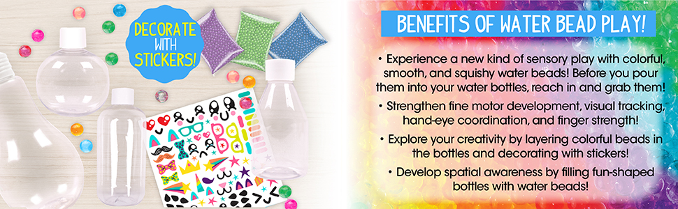 made by me, learn, grow, water beads, art, create, activity, activity kits