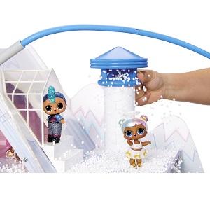 chalet; winter disco house; elsa house; winter castle