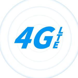 世界中の多くのLTE(4G)高速通信に対応