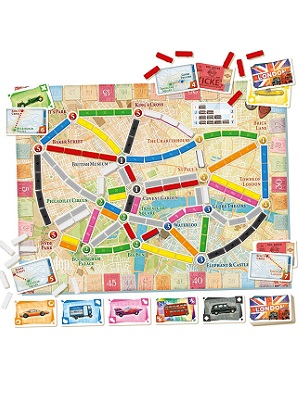 Board Game; Ticket To Ride London
