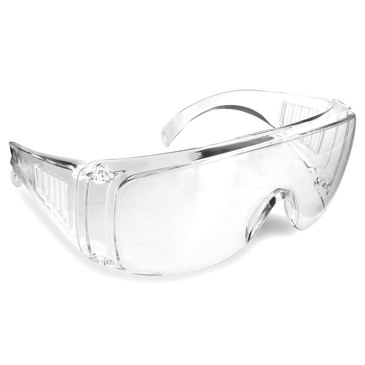 Rugged Blue Visitor Clear Safety Glasses (12) - - Amazon.com