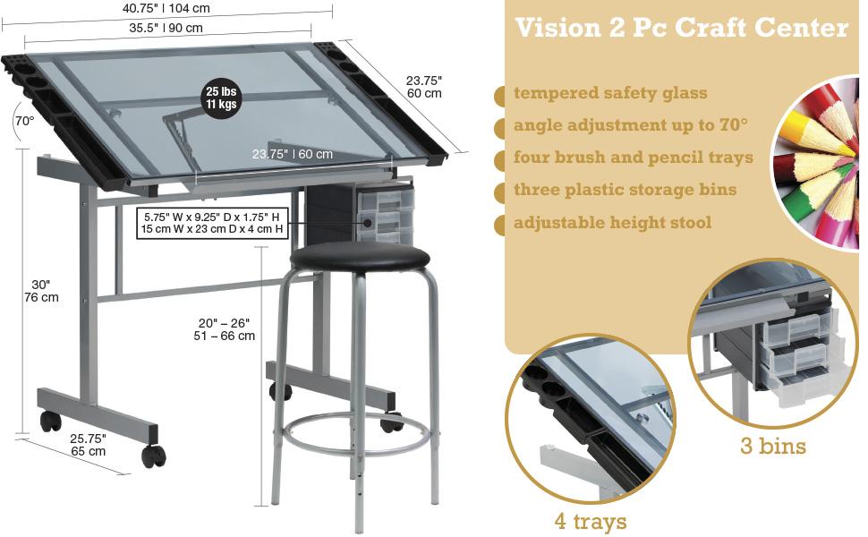 Vision Craft Station, Vision Craft Center, Studio Designs