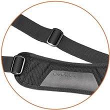 Ergonomic two-way adjustable shoulder strap