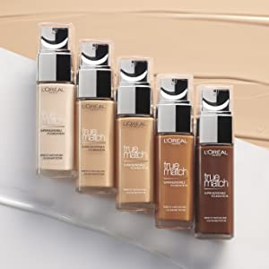 true match foundation, long lasting foundation, 24hr foundation,