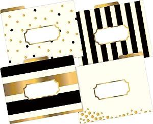 gold, file folder, fashion file