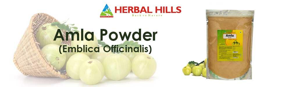 Amla Powder hair care
