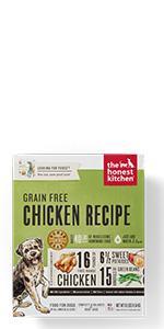 Amazon.com: Honest Kitchen, alimento deshidratado con base ...