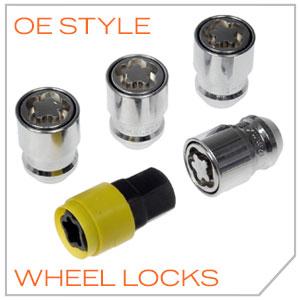 OE STYLE WHEEL LOCKS