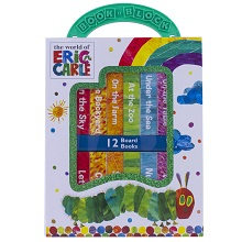 my,first,library,book,block,early,learning,year,old,olds,baby,babies,1,2,eric,carle,caterpillar