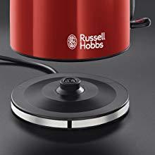 bouilloire,bouilloire électrique,verre,russell hobbs,bouilloire compacte,compact home,petite cuisine