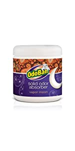 OdoBan solid odor absorber, vapor moon scent