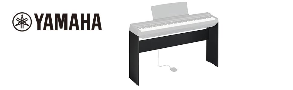 Yamaha L-125 - Soporte compacto de madera para piano digital ...