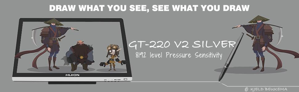 """GT-220V2 21.5"""" IPS-Monitor"""
