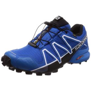 SALOMON Herren Speedcross 4 GTX Schuhe, blau, 43 13 EU