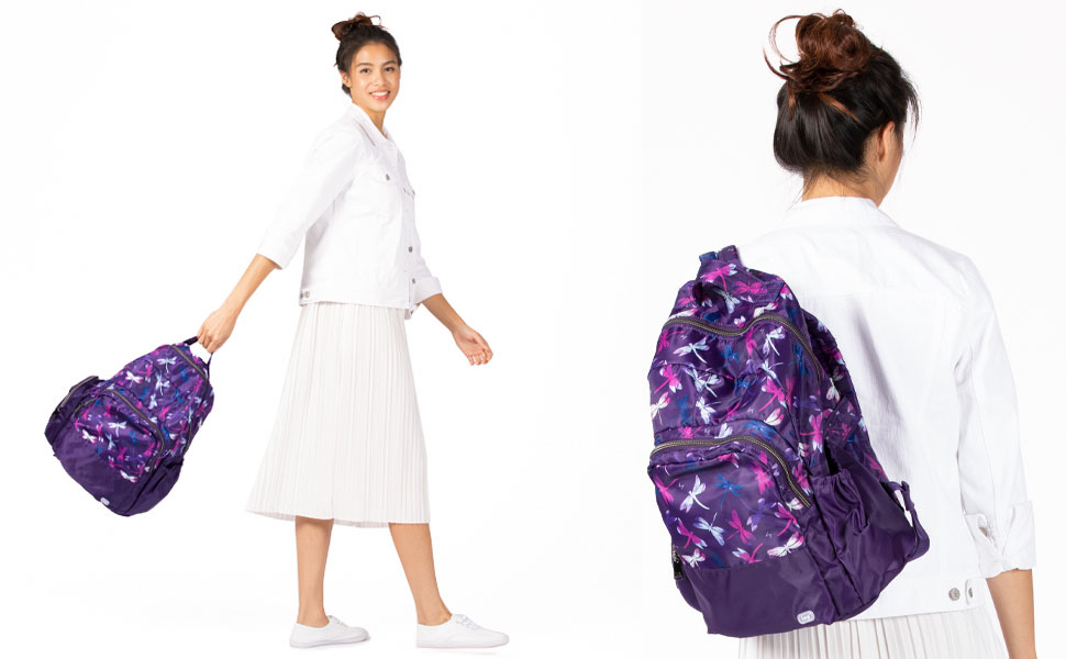 backpack, packable backpack, back pack, travel backpack, fashion backpack, everyday backpack