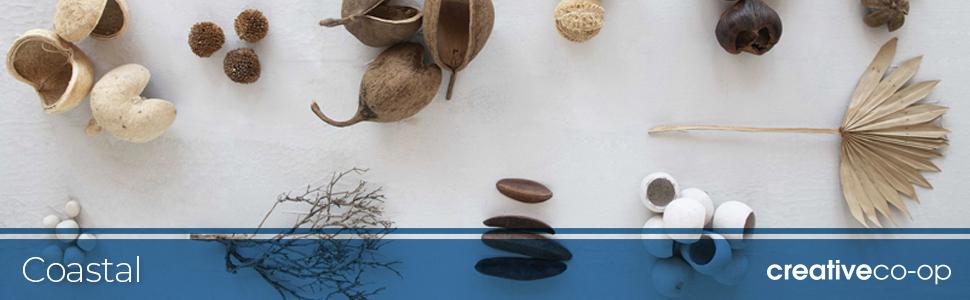 coastal, collection, creative coop, decor, beach