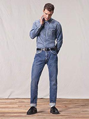 Levis 501 Fit Jeans Pantalón vaquero con diseño clásico y cómodos de usar, Hombre: Amazon.es: Ropa y accesorios