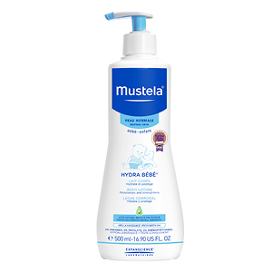 Mustela bebe body lotion 500mL