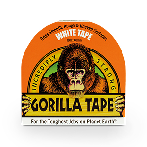 Gorilla Tape 10m Wit