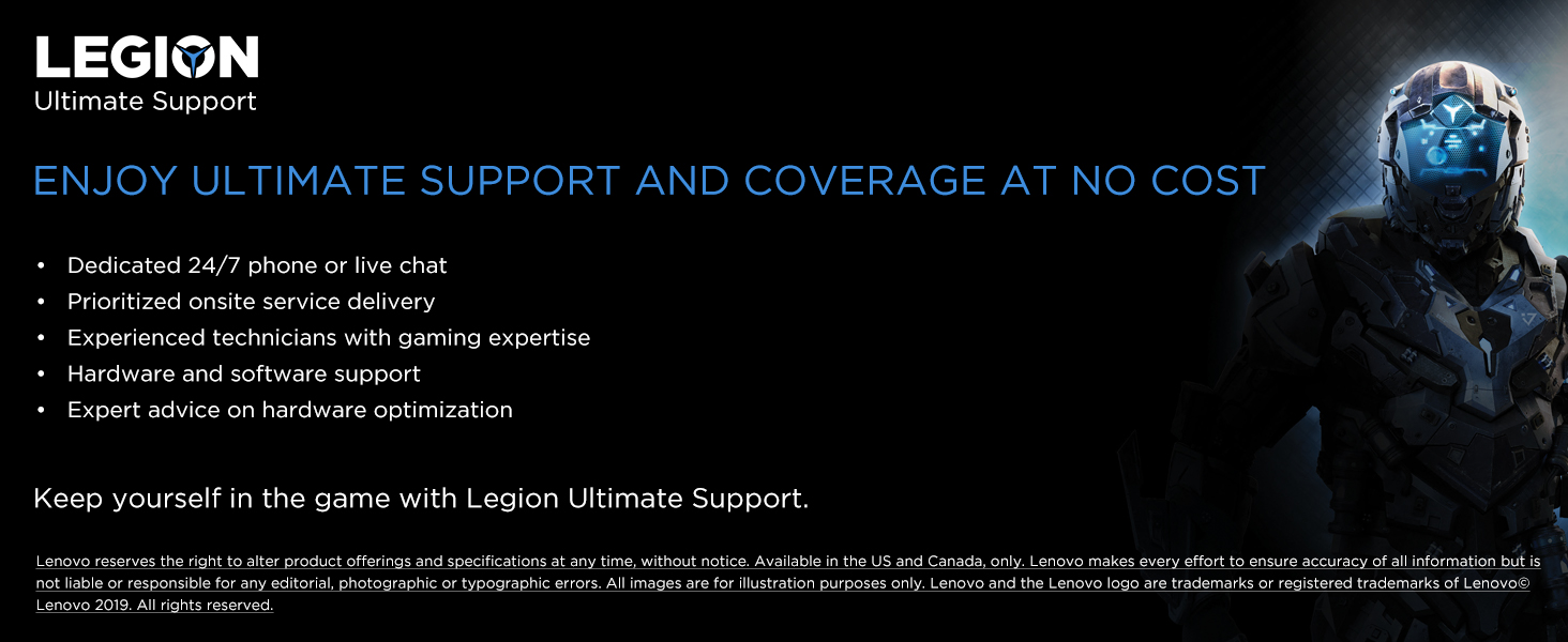 legion ultimate support upgrade