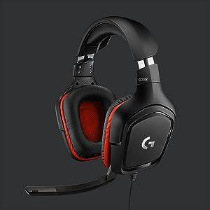 G332, Logitech G, Audífons para Gaming, Gaming Headset